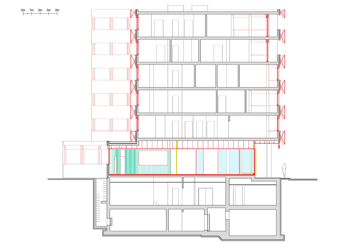 Sezione AA - demolizioni e costruzioni – gialli e rossi  }