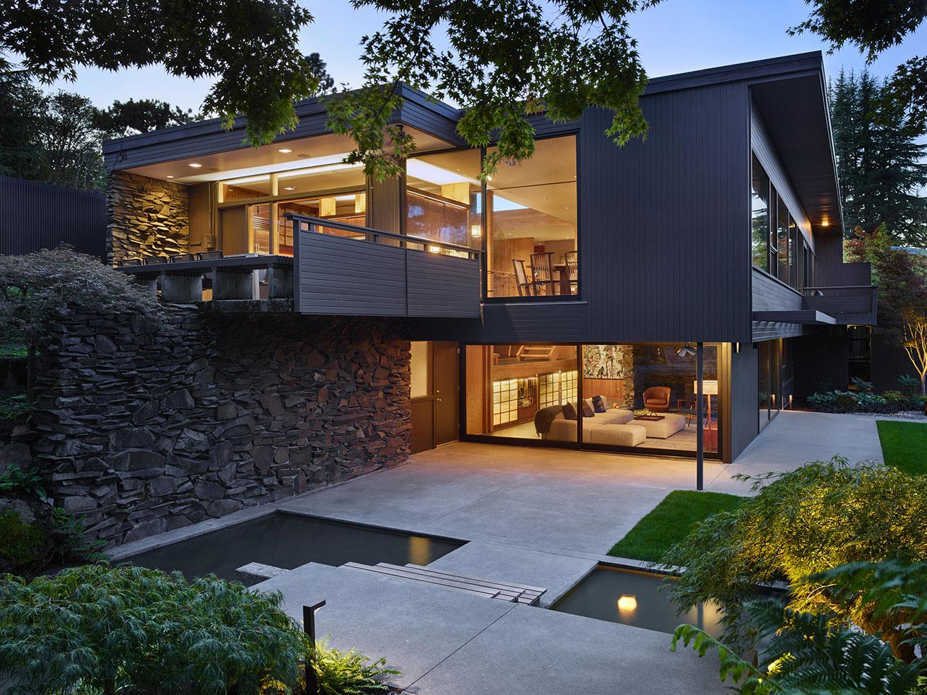 Exterior and Gardens }