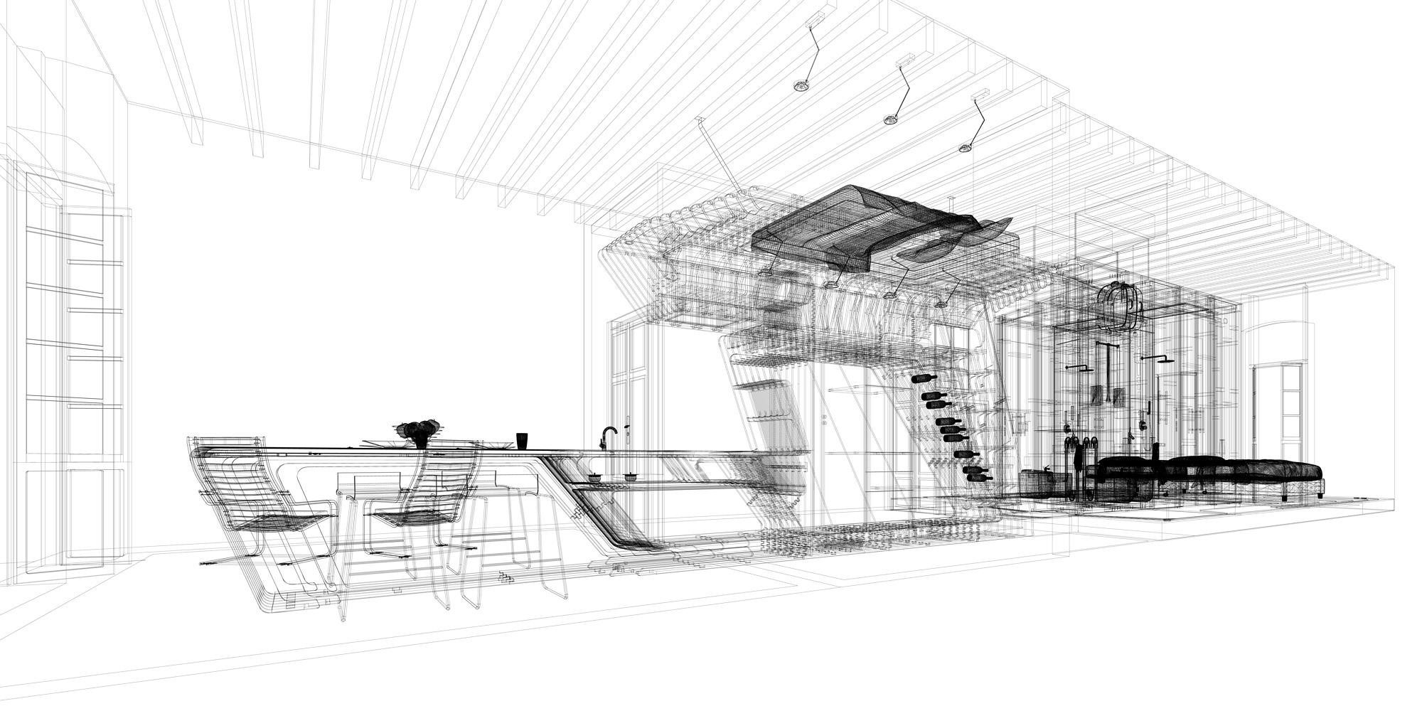 Prototipo Digitale 3D pronto alla fabbricazione. }