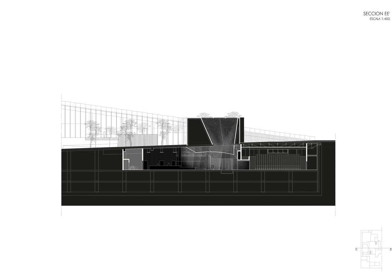 Section-E Guillermo Vazquez Consuegra. Arquitecto}
