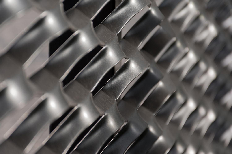 Expanded Metal Detail MEDULLA studio}