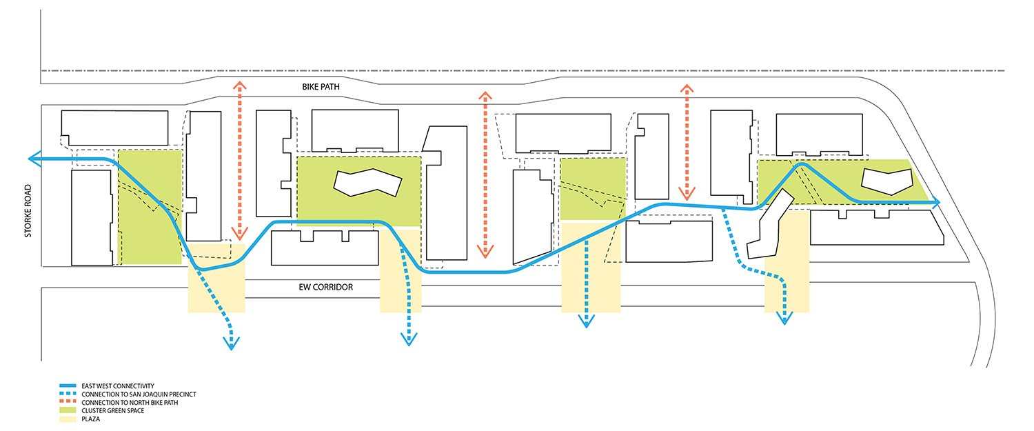 Connection Site Plan © Lorcan O'Herlihy Architects [LOHA]}