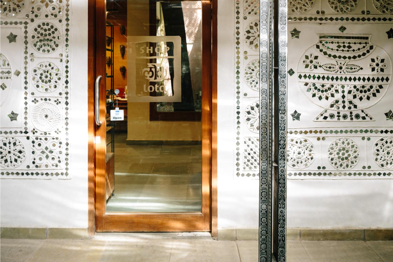 CAFE LOTA & THE MUSEUM SHOP AT NATIONAL CRAFTS MUSEUM, DELHI, INDIA Randhir Singh
