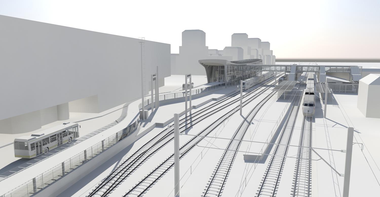 Model © SNCF-AREP / Illustrator: LAcellule 3D, Olivier Jame}