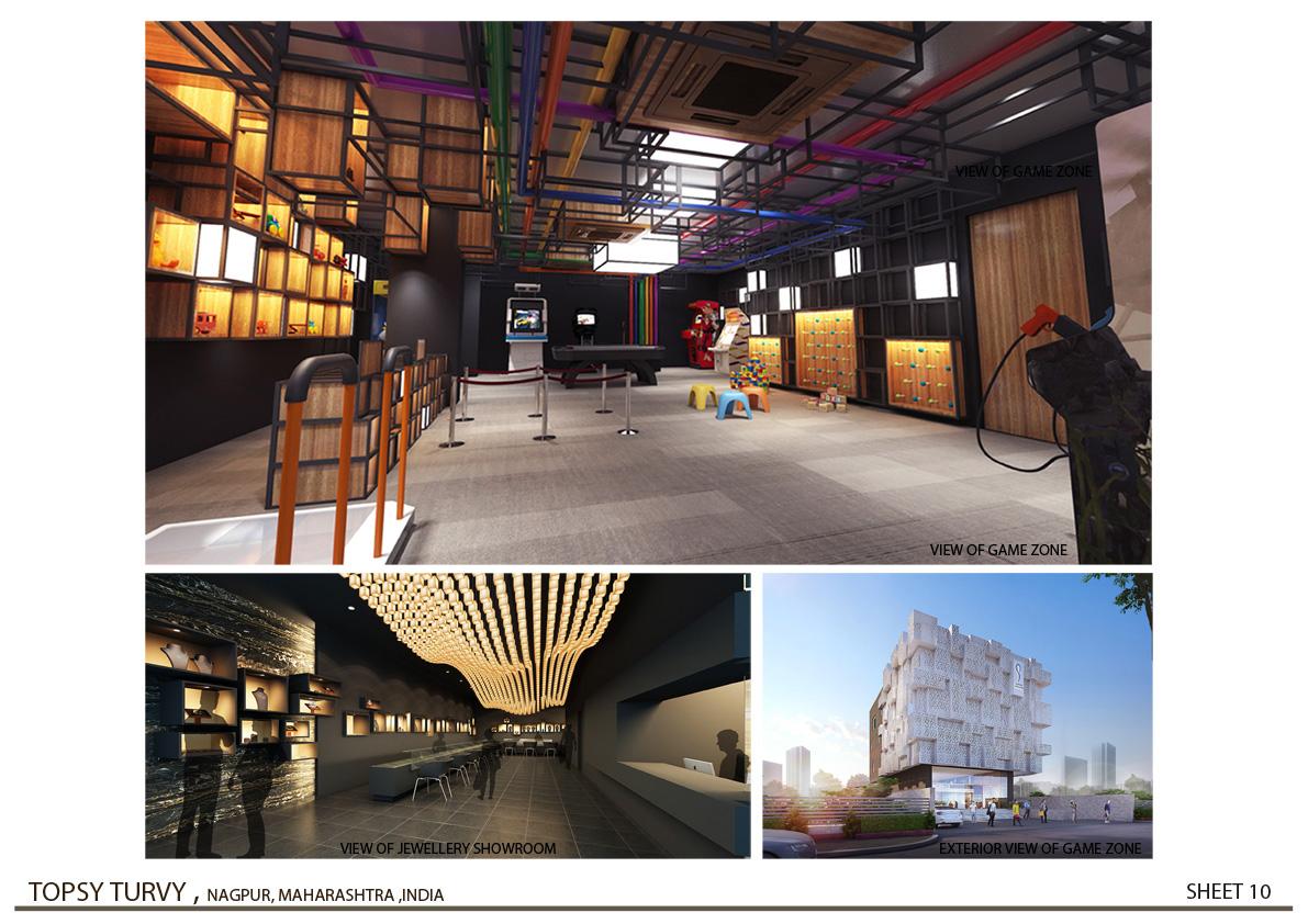 3D Rendering - 02  Zeel Architects }