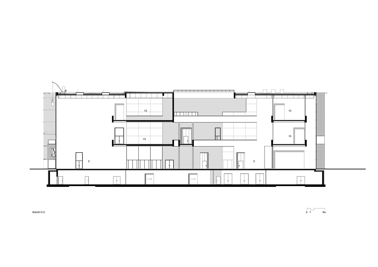 Cross section © gmp Architects}