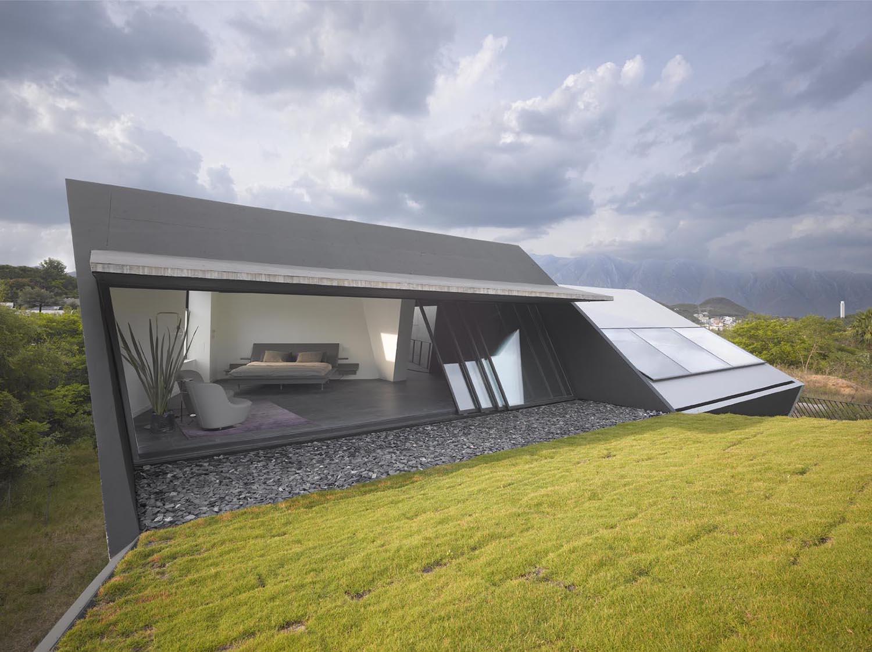 Master Bedroom & Terrace Roland Halbe