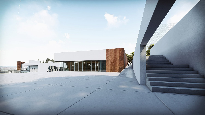 Corpo B - vista esterna Giuseppe Todaro Architect