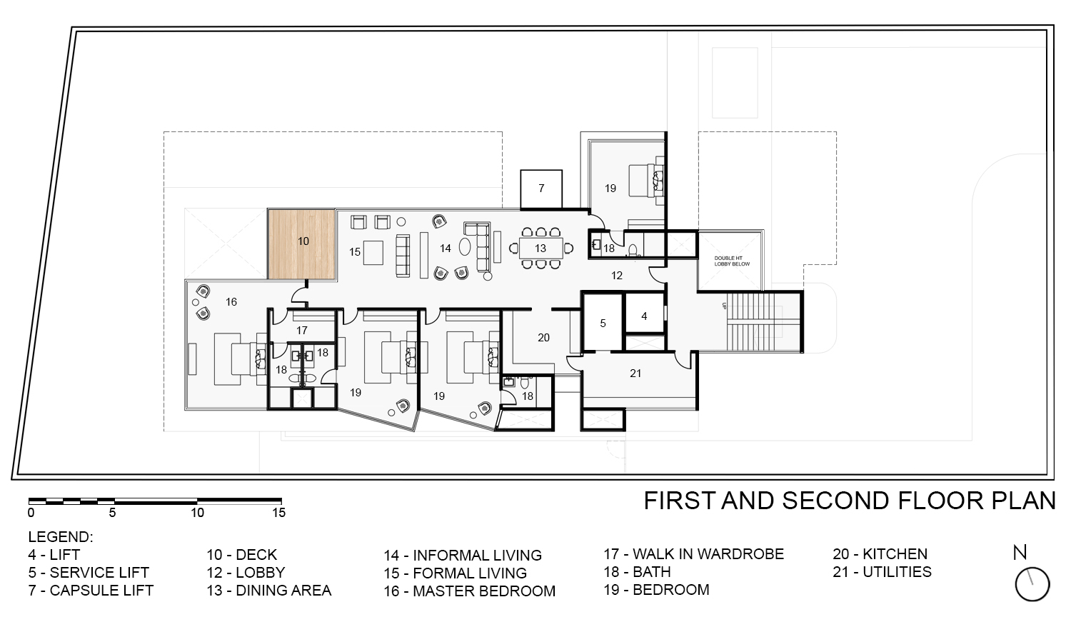 First & Second Floor Plan KNS Architects