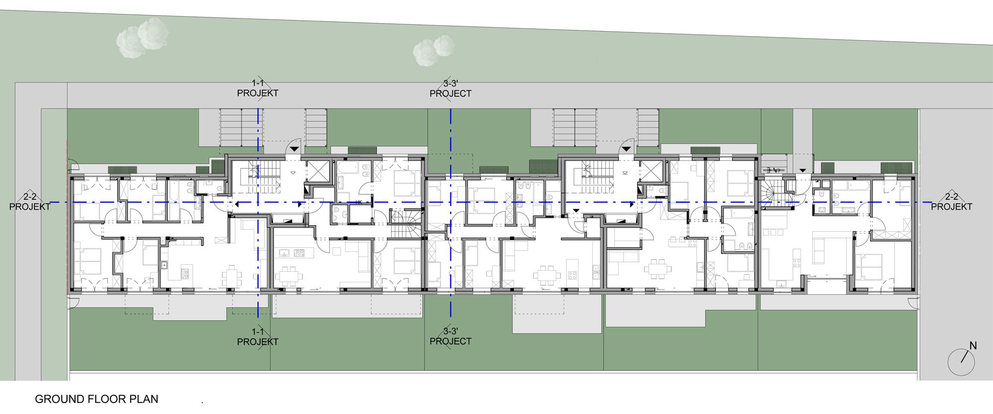 Plan of the Ground Floor }
