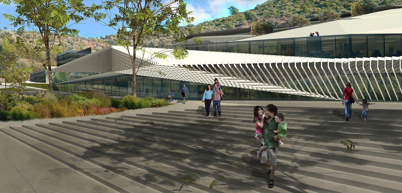School Complex entrance
