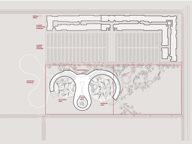 indjija spa resort 03 general layout plan ENOTA}