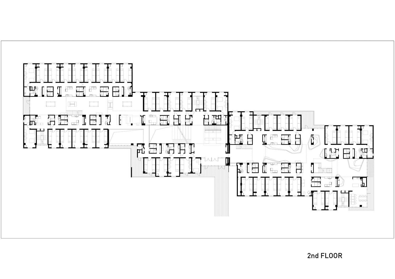 2nd floor plan }