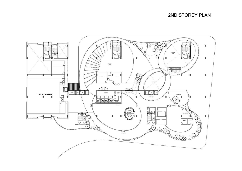 2nd Storey Plan }