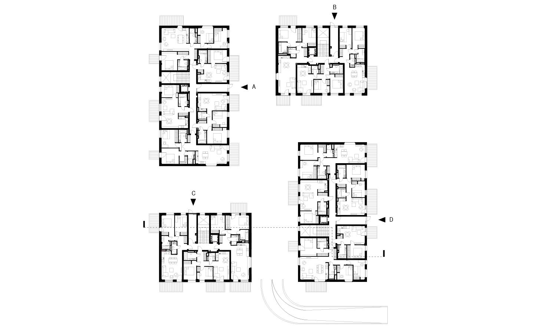 ground floor plan AB3D}