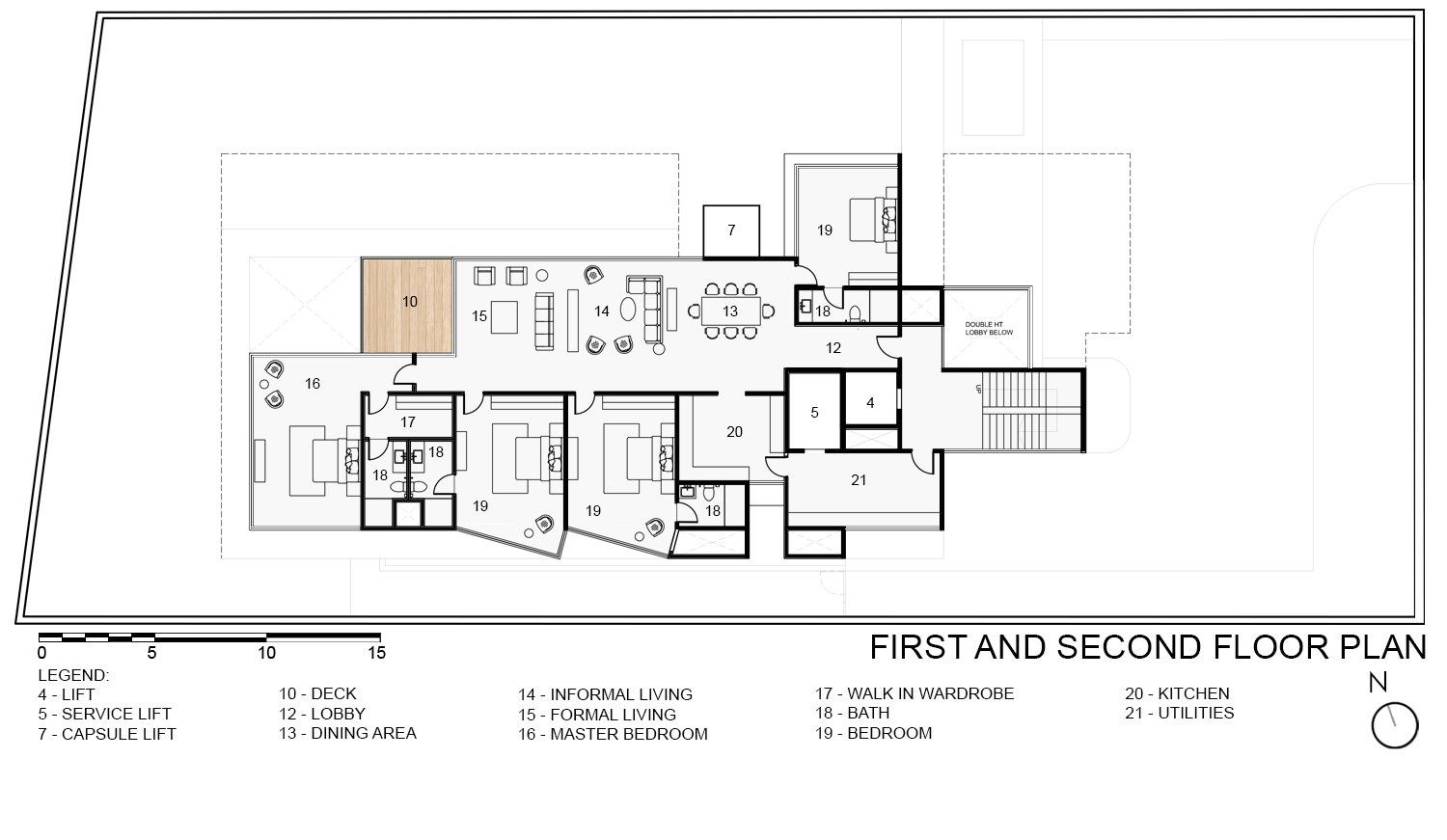 First & Second Floor Plan KNS Architects}
