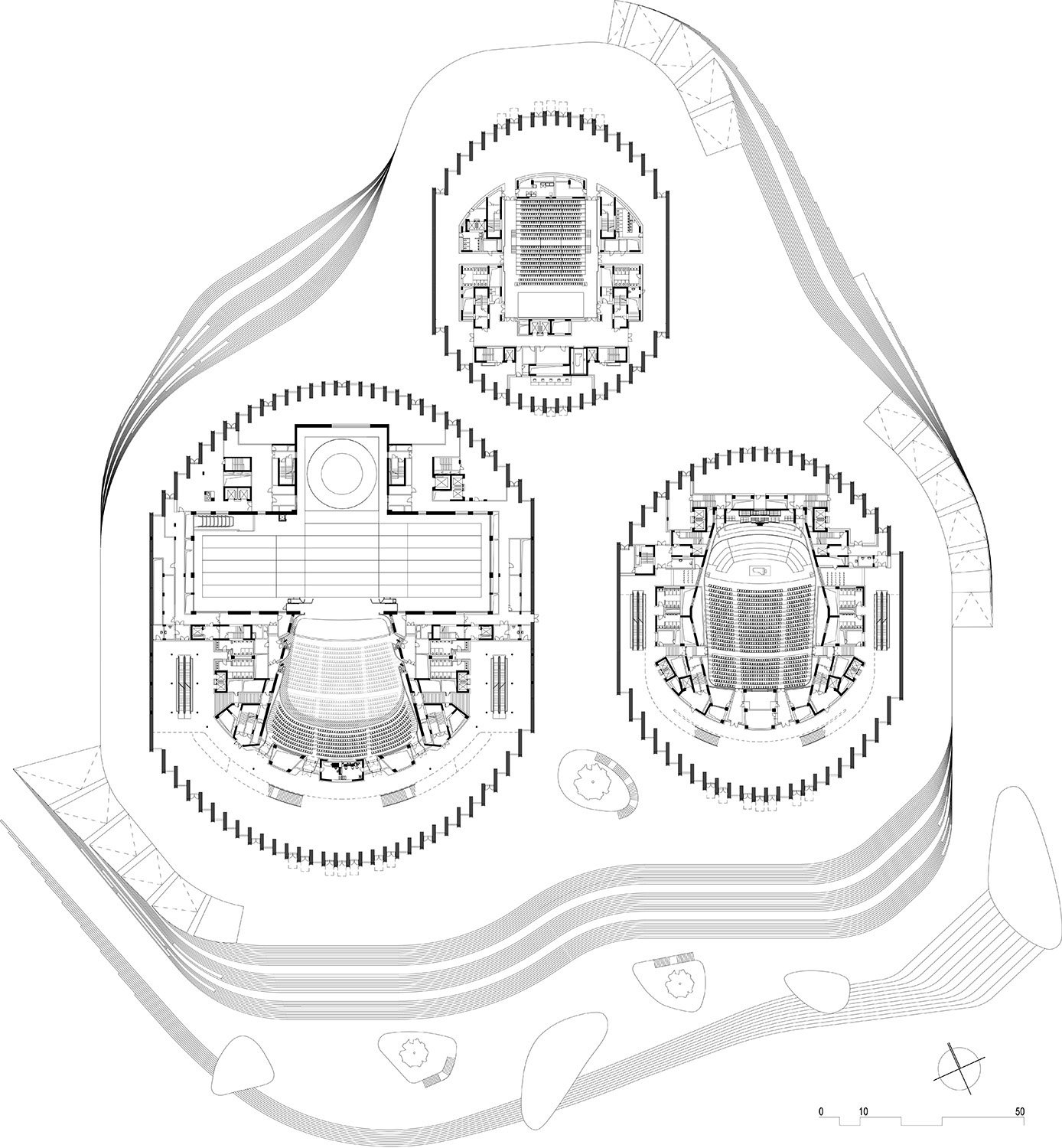 Floor plan level 02 © gmp Architects}