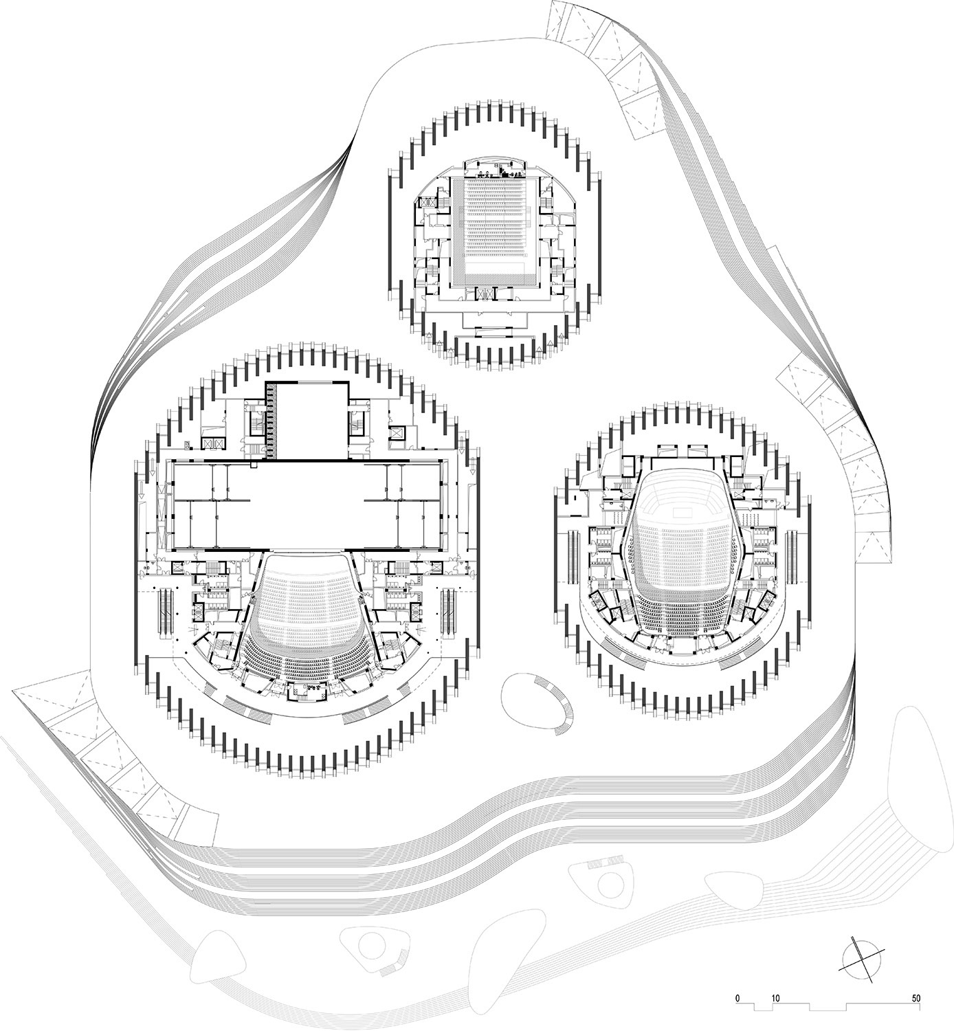 Floor plan level 03 © gmp Architects}