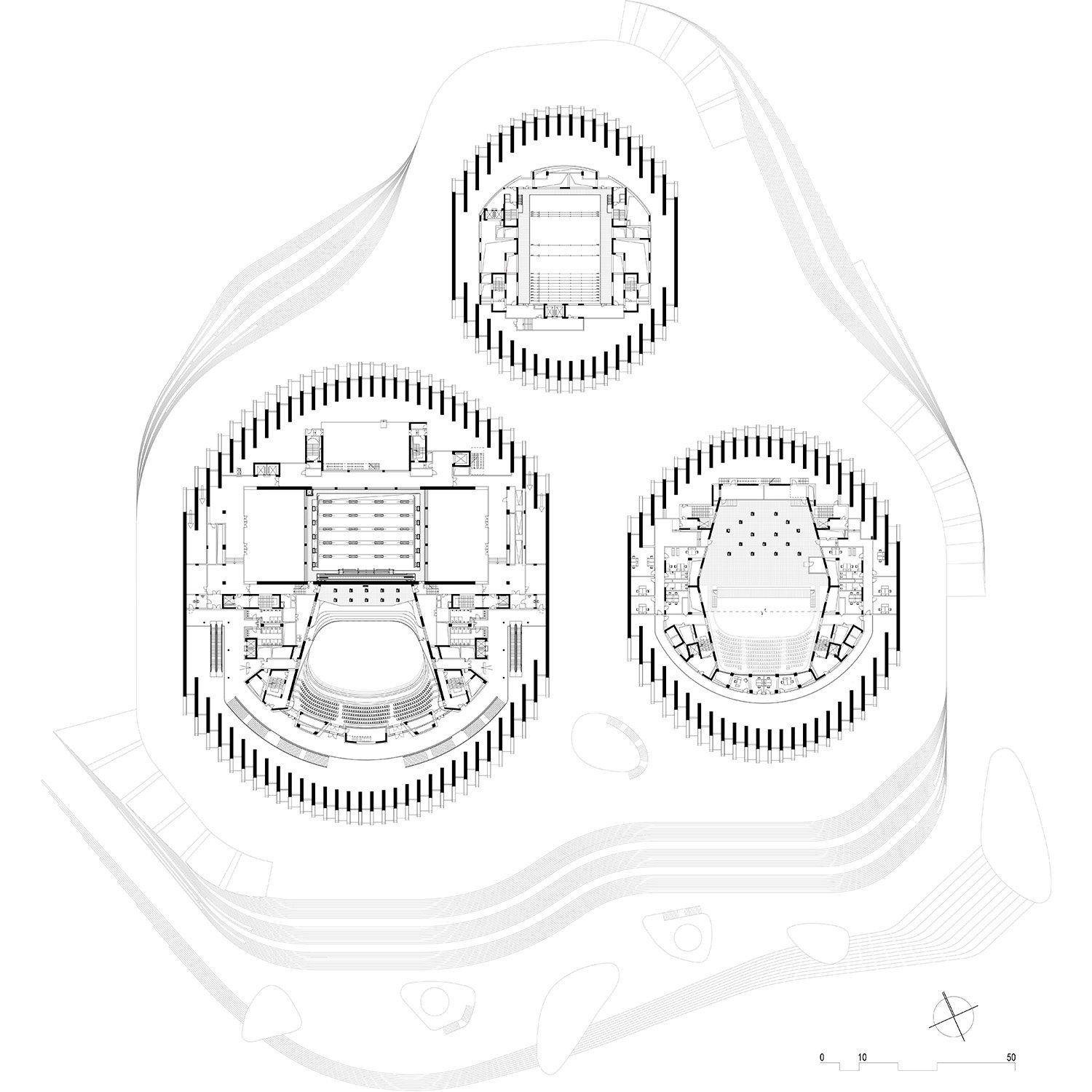Floor plan level 04 © gmp Architects}