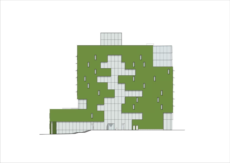 Northern facade }
