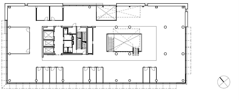 Floor plan level 4  }