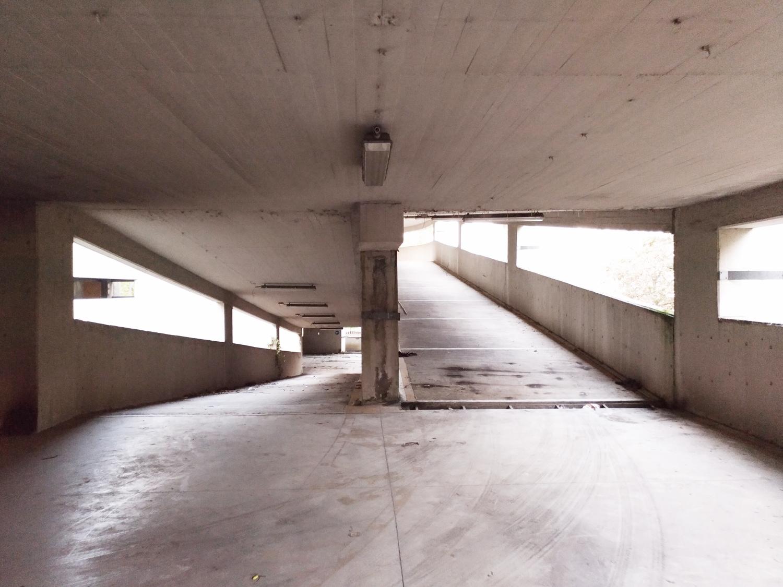 Vista interna della rampa principale allo stato di fatto }