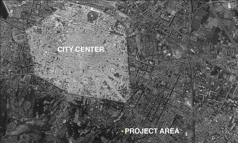L'area di progetto / Project area  Antonio Iascone Ingegneri Architetti}