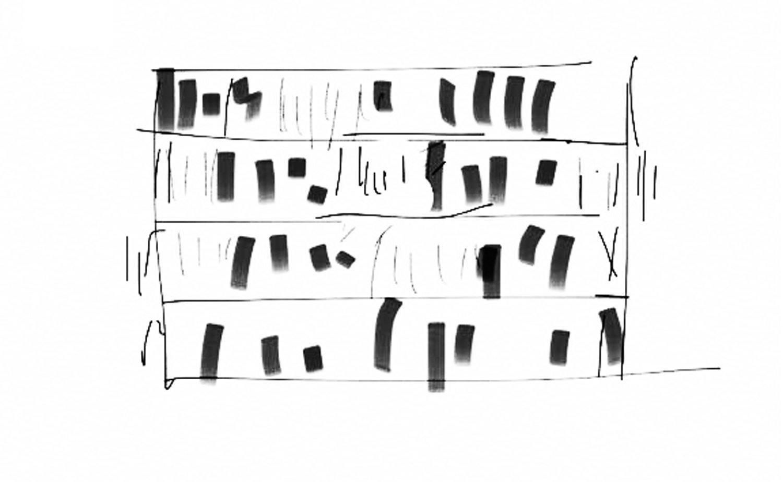 Schizzo progettuale / Concept sketch Antonio Iascone Ingegneri Architetti}