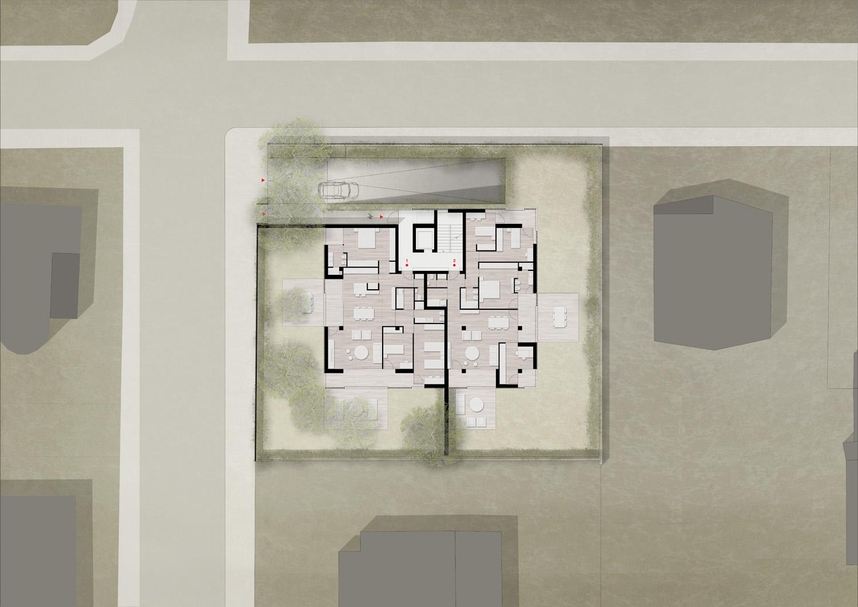 Pianta piano terra / Ground floor plan Antonio Iascone Ingegneri Architetti}