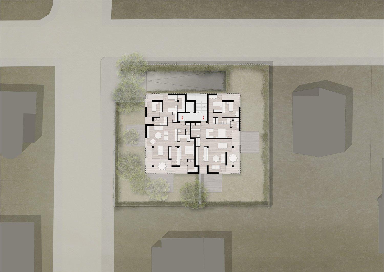 Pianta piano primo / First floor plan Antonio Iascone Ingegneri Architetti}