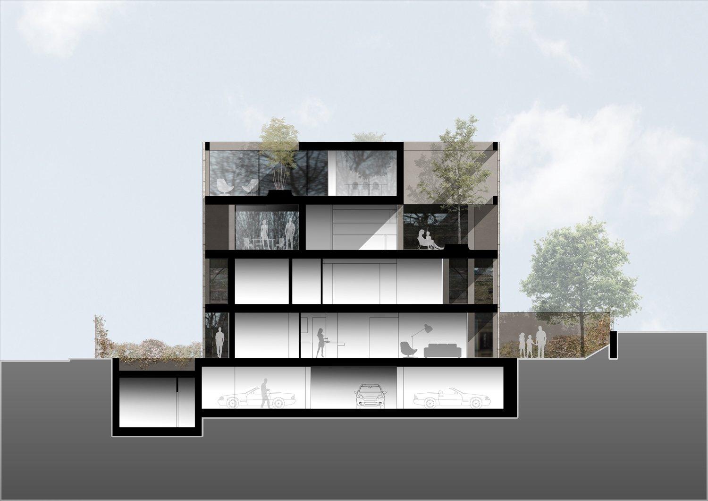 Sezione / Section Antonio Iascone Ingegneri Architetti}
