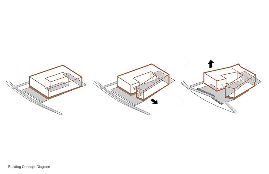 Building Concept Diagram Leers Weinzapfel Associates }