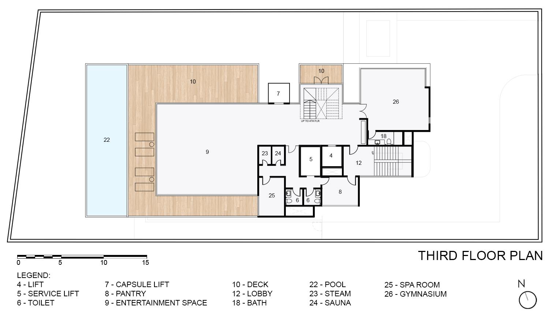 Third Floor Plan KNS Architects