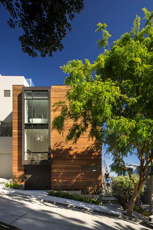 Buena Vista Residence from Park Hill