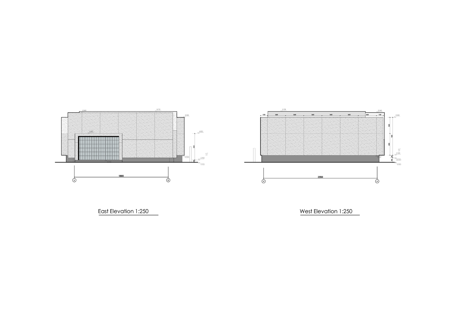 3D models of east and wast elevations Vermilion Zhou Design Group}