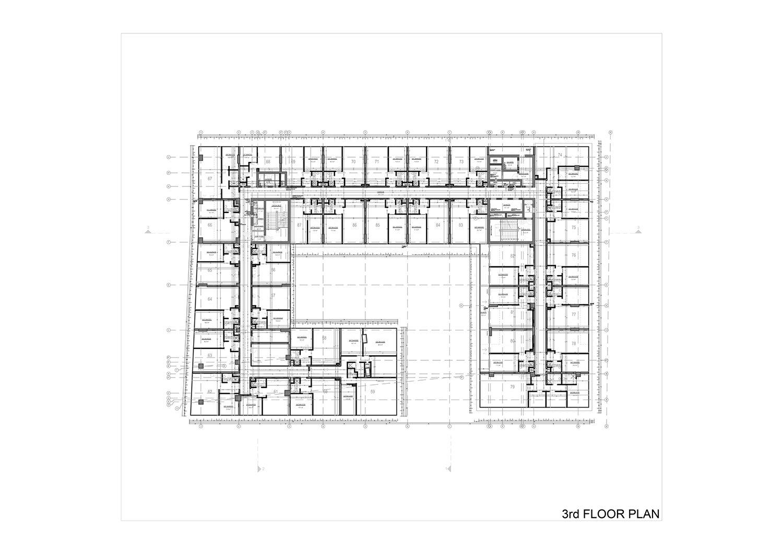 3rd FLOOR PLAN Studio Vertebra}