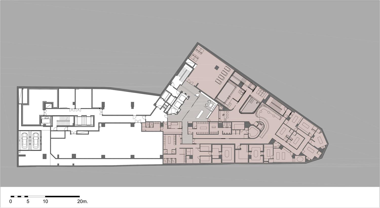 St. Regis Istanbul - Floor Plan }