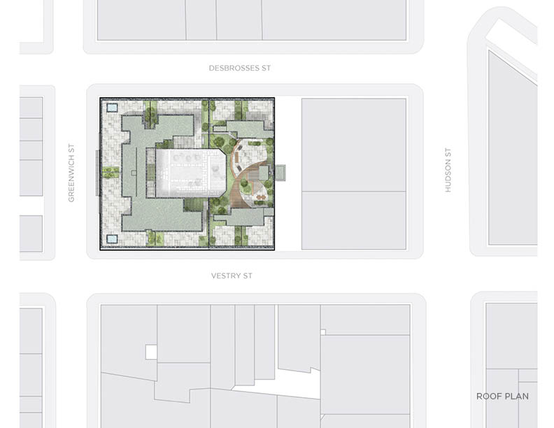 Roof plan CetraRuddy Architecture}