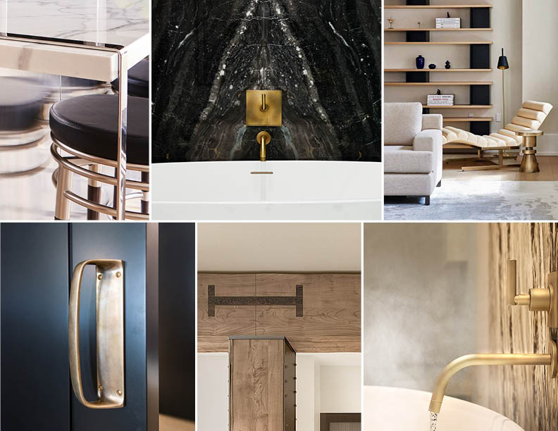 Finishes and detailed inspired by original architectural heritage  Adrian Gaut; Eric Laignel; CetraRuddy Architecture }
