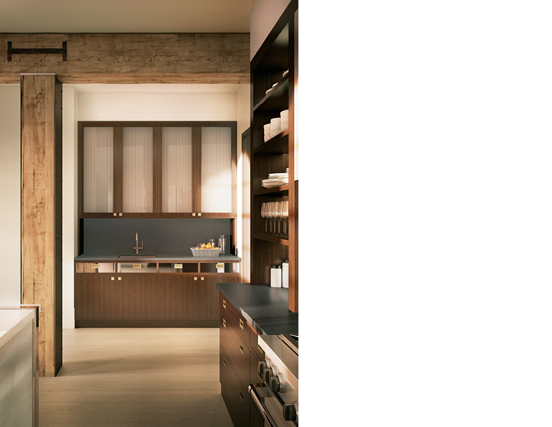 Butler's Pantry CetraRuddy Architecture