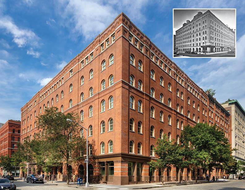 443 Greenwich restored and revived as urban residences; Original, 1884, Charles C. Haight  David Sungberg; Higgins Quasebarth & Partners
