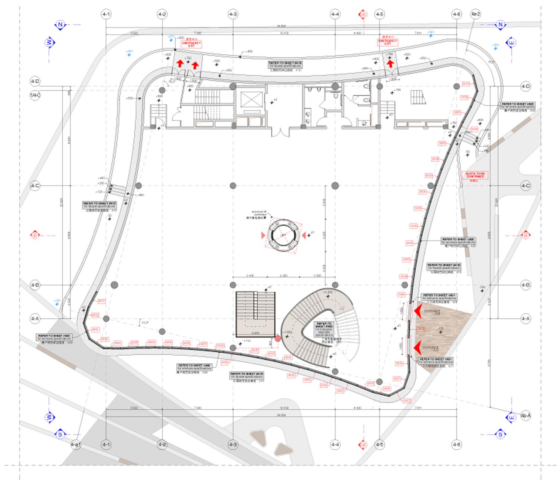 Ground floor plan duccio grassi architects}