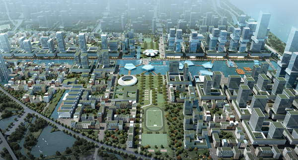 2022 ASIAD Key Project  (Athlete Village) Urban Design International Competition_First prize