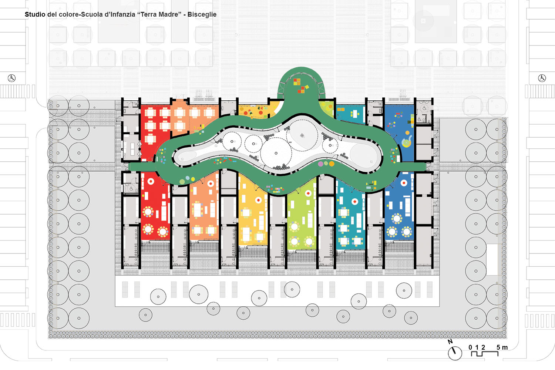 Interior design floor plan Luca Peralta}