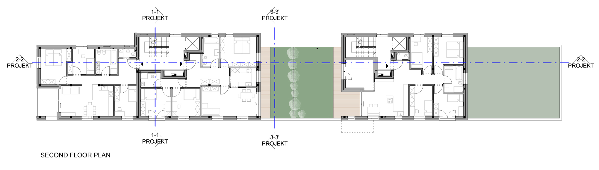 Plan of the Second Floor }