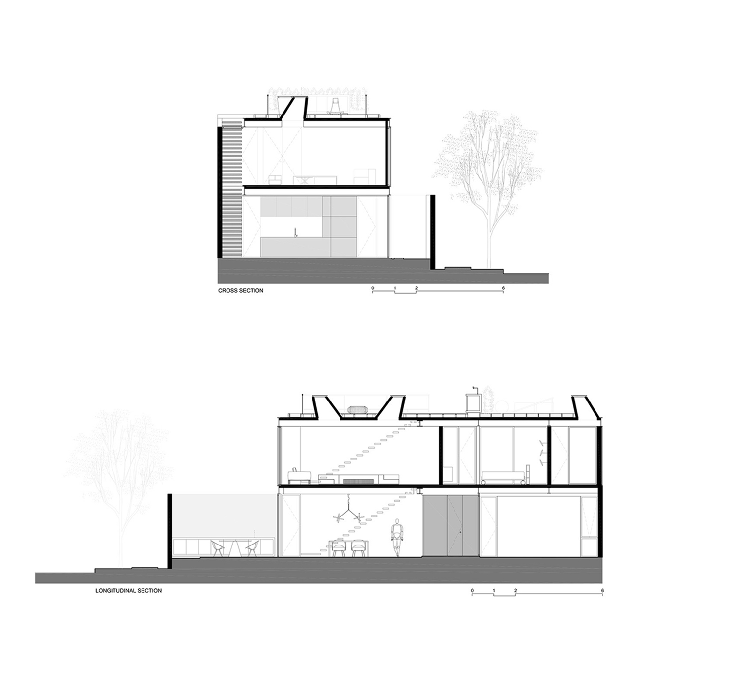 Cross Section and Longitudinal Section FCstudio}