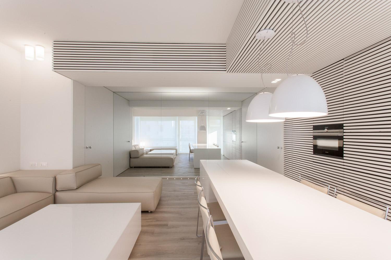foto area soggiorno-cucina-pranzo Leonardo Gentili