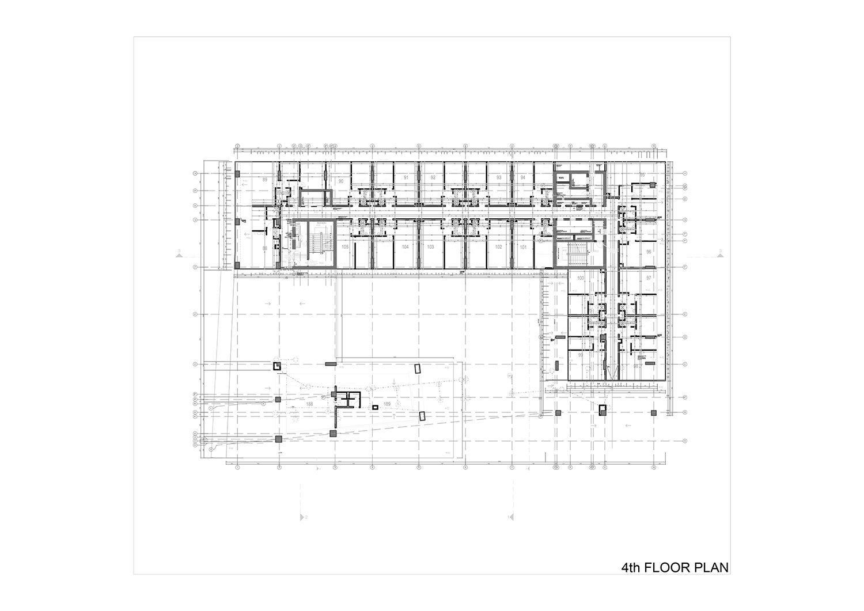 4th FLOOR PLAN Studio Vertebra}