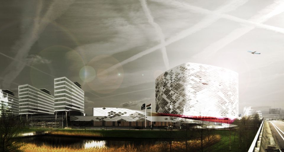 2009: a 40,000m2 hotel and conference centre }