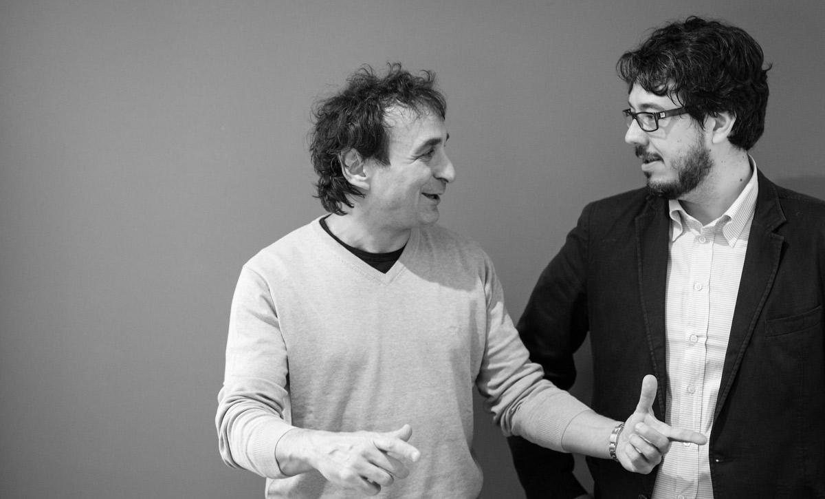 Marco Armiliato and Andrea Vattovani